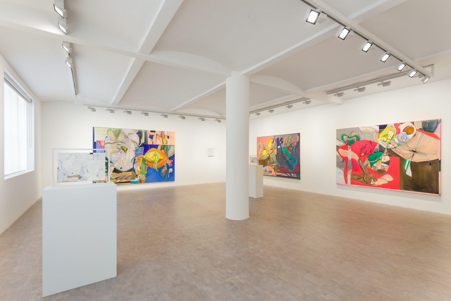 Pippy Houldsworth Gallery Stefanie Heinze 1