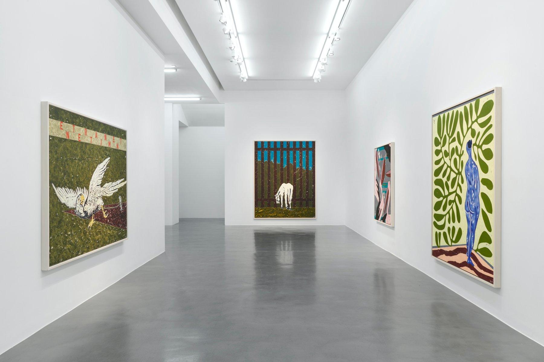 Simon Lee Gallery Werner Buttner 1