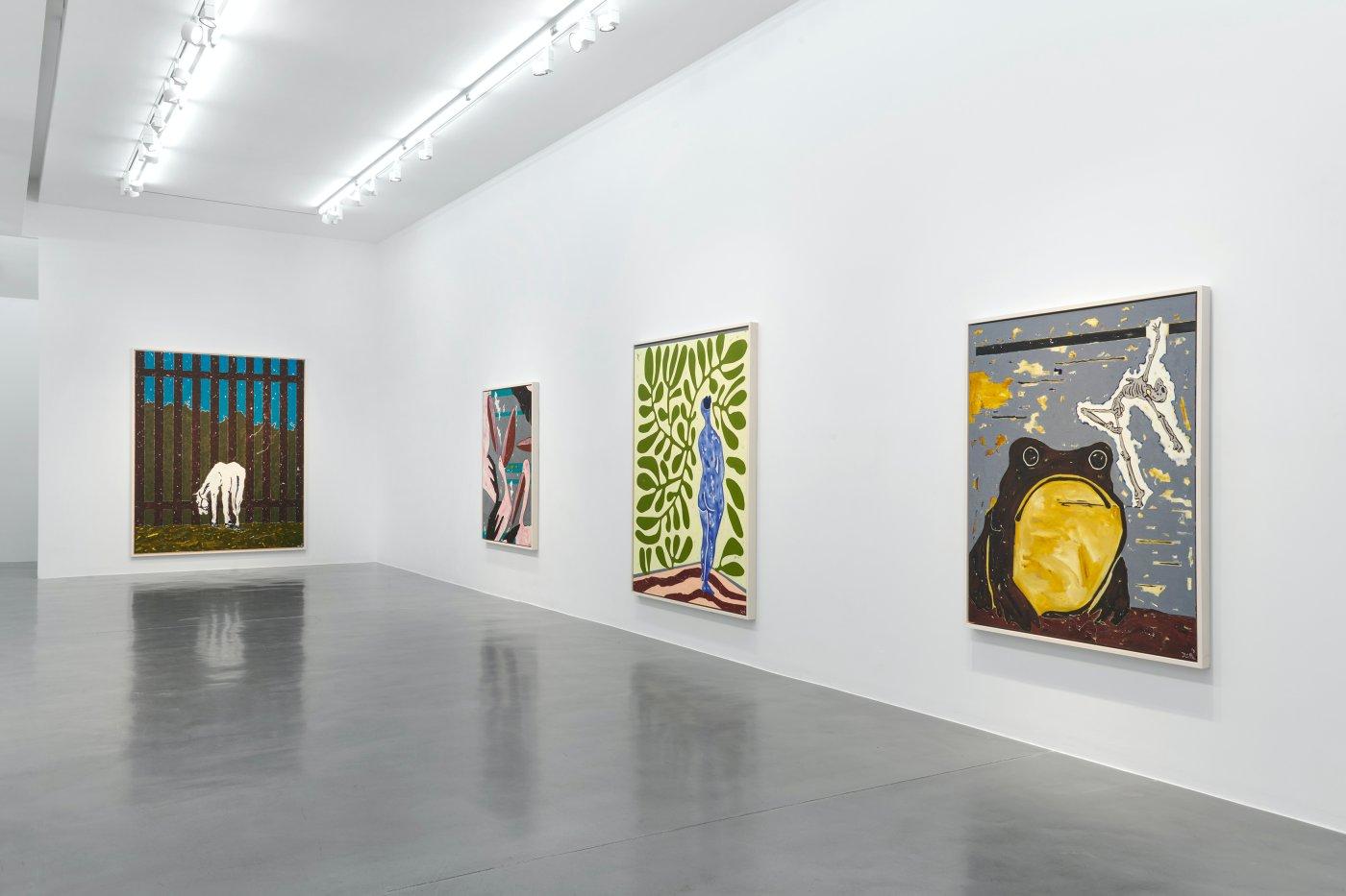 Simon Lee Gallery Werner Buttner 2