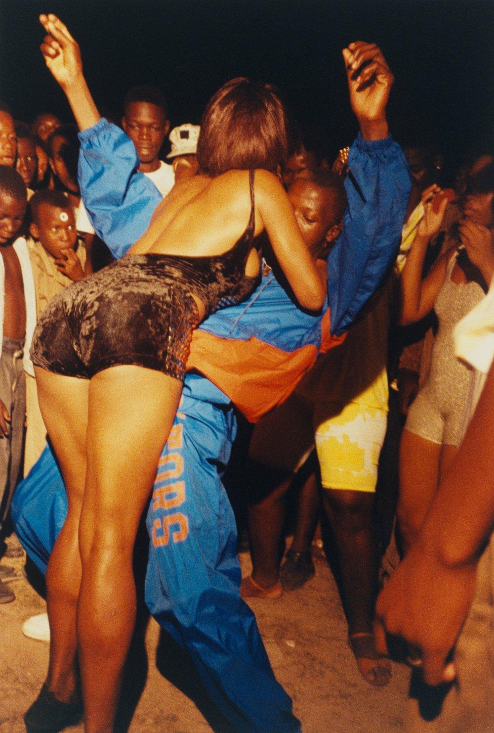 ragga dancers, Kingston