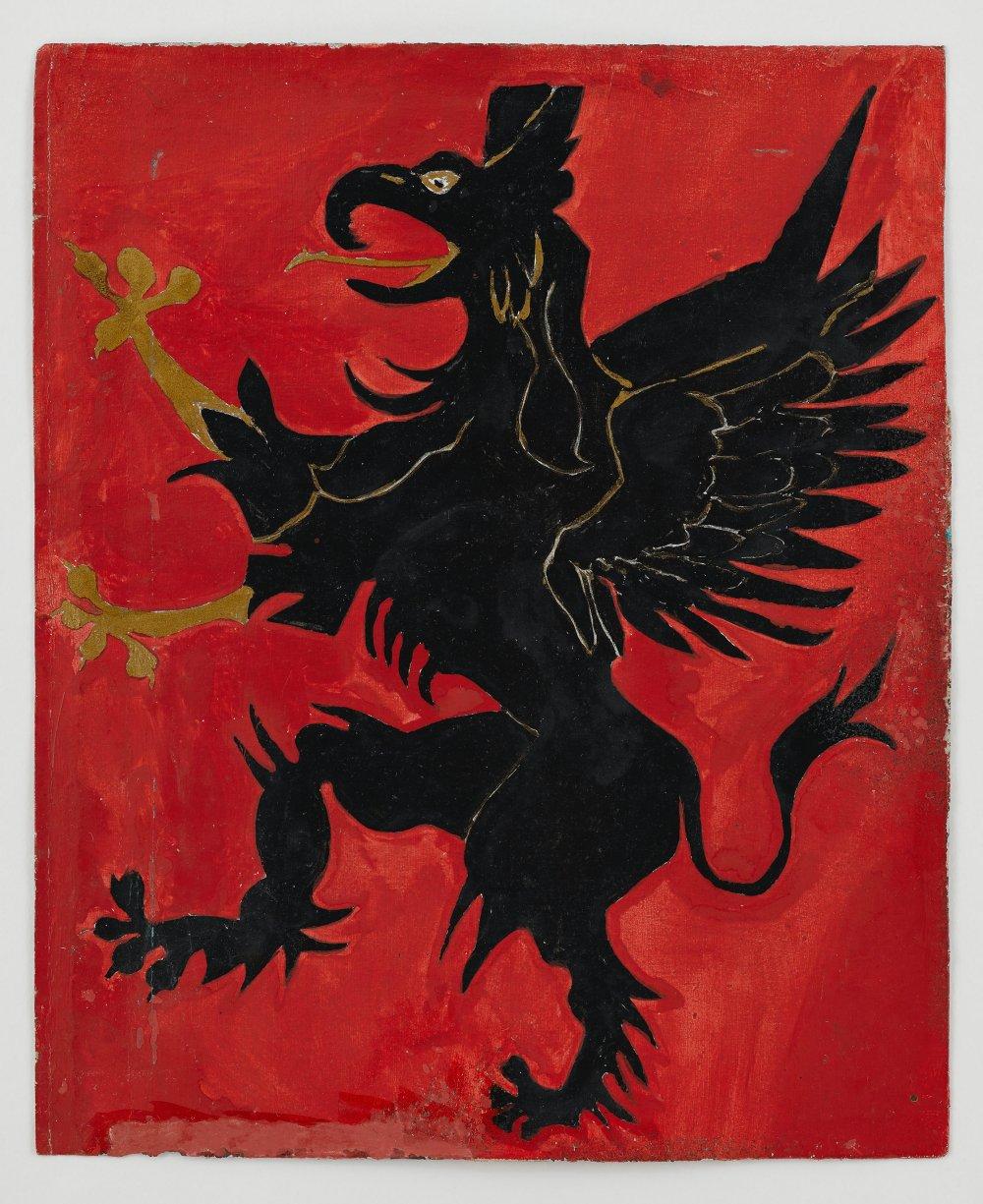 Untitled (Heraldic Beast [Griffin])