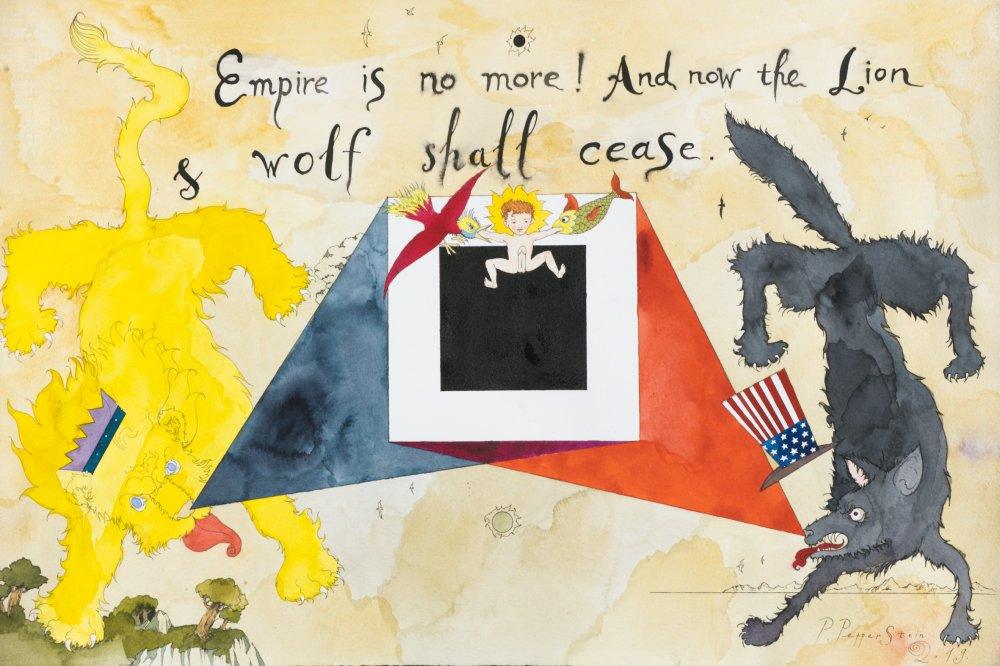 Empire is no more! and now the lion and wolf shall cease