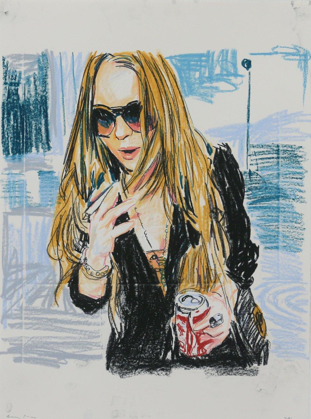 Untitled (Lindsay Lohan)