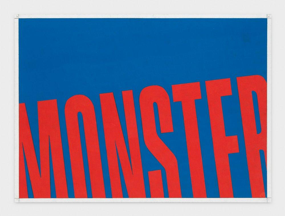 MONSTER (Cerulean Blue/Red Slide)