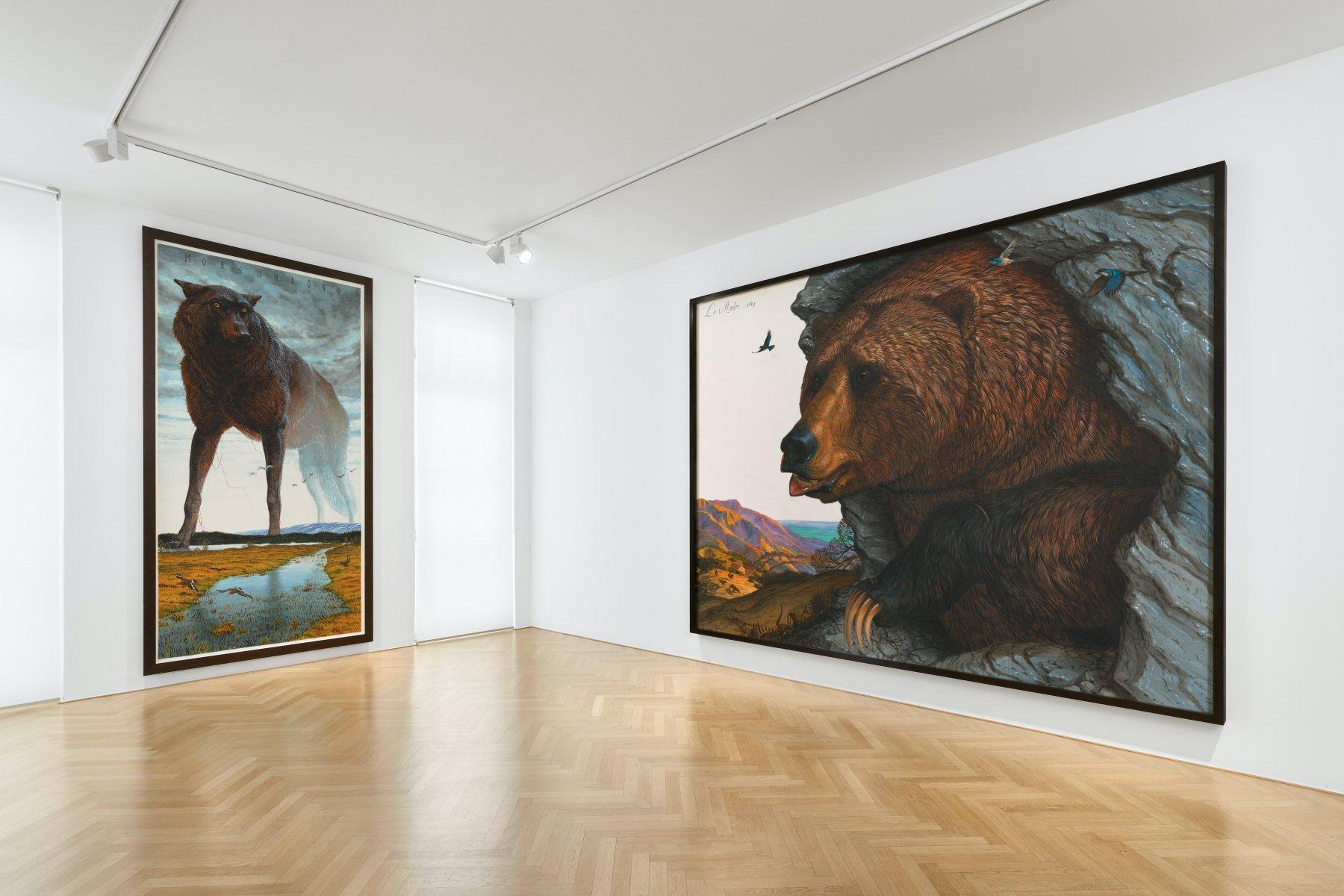 Galerie Max Hetzler Walton Ford 1