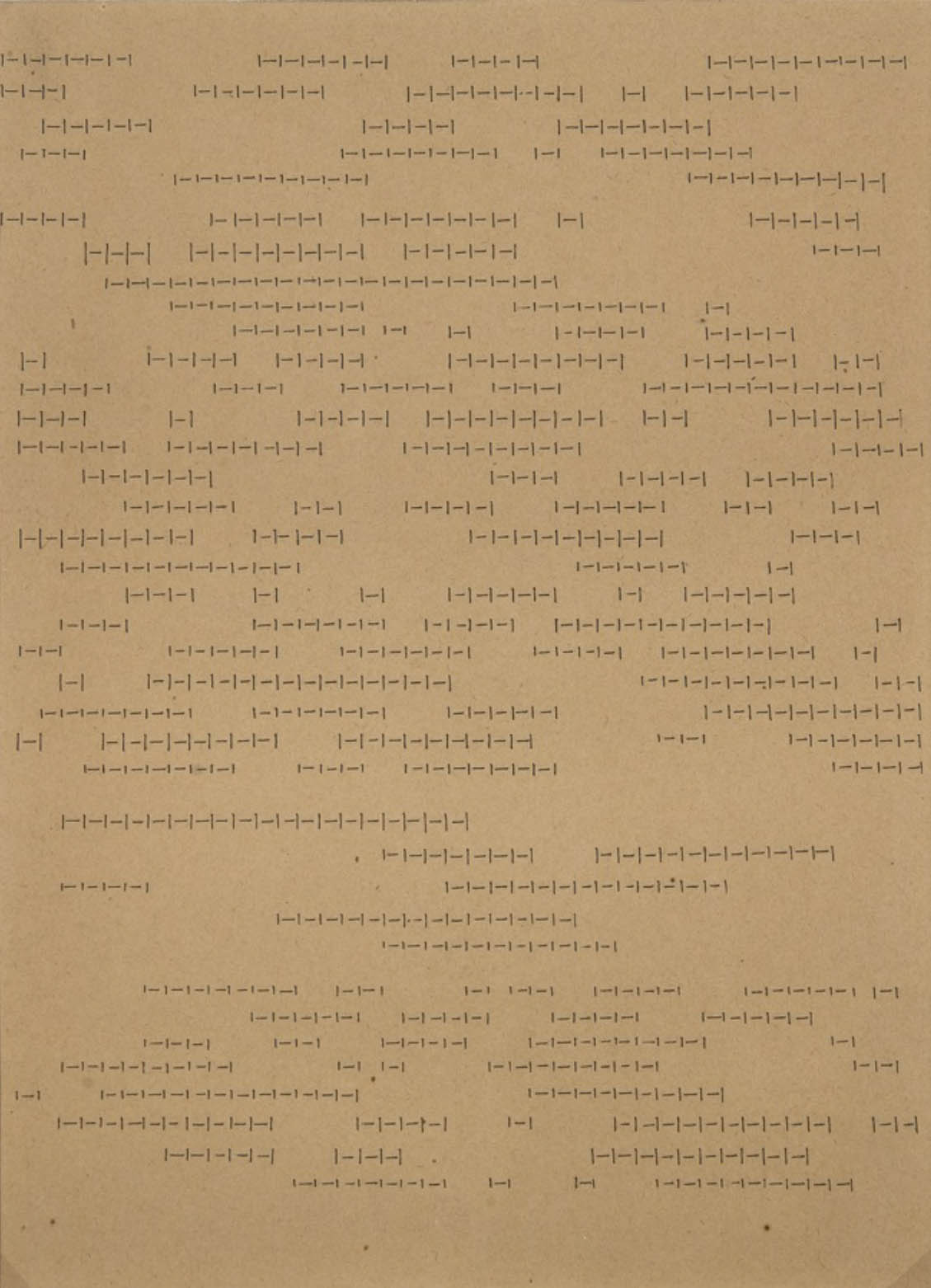 L'alfabeto della mente, lettera 1