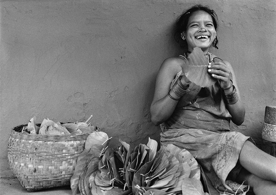 Dhurva Woman. Village Tiria, Bastar. India
