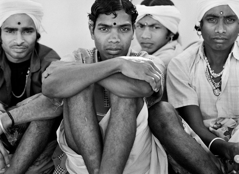 Muria boys near Jagdalpur. Bastar, India