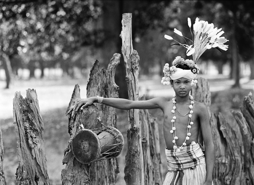 Dancer. Village Bahigaon, Bastar, India