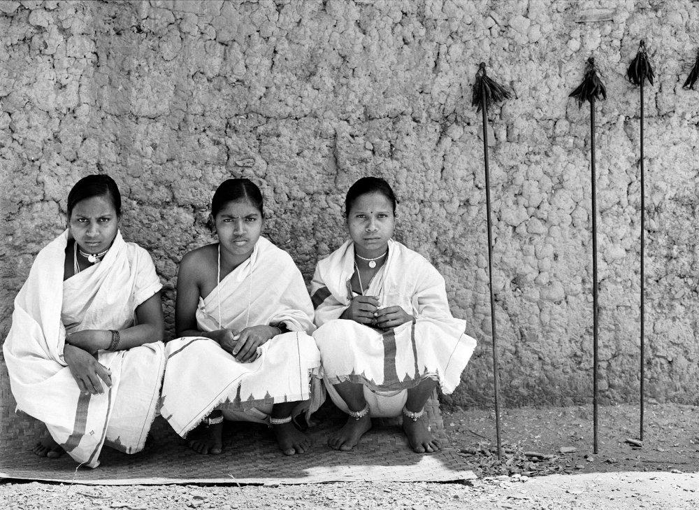 Dancers. Village Neganar, Bastar, India