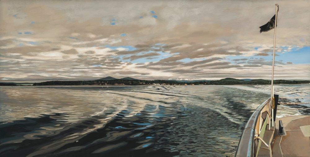 Approaching Storm, Lake Champlain