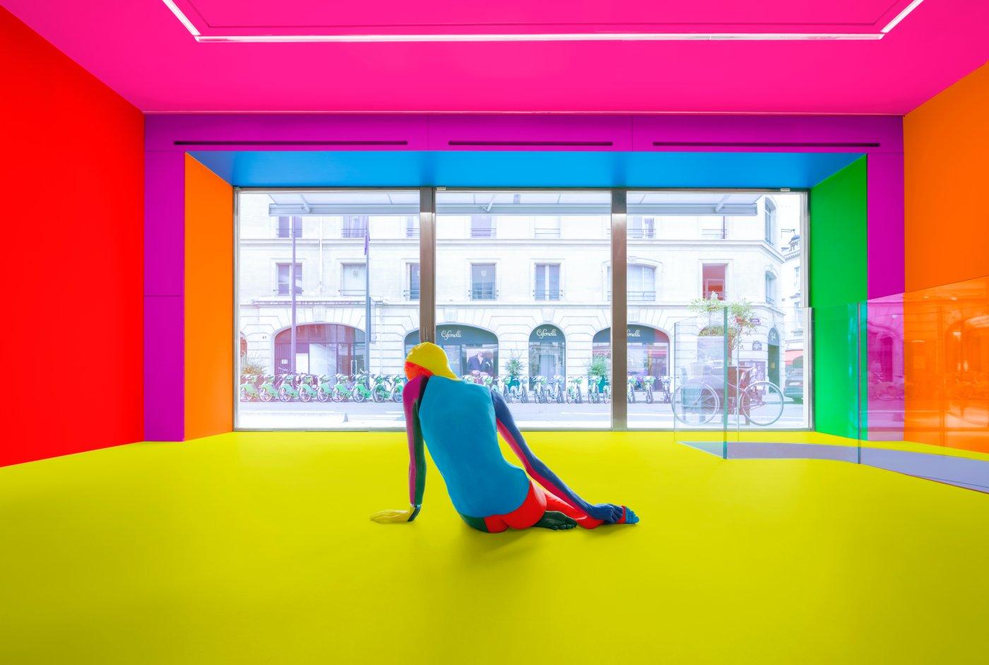 kamel mennour Ugo Rondinone a rainbow 5