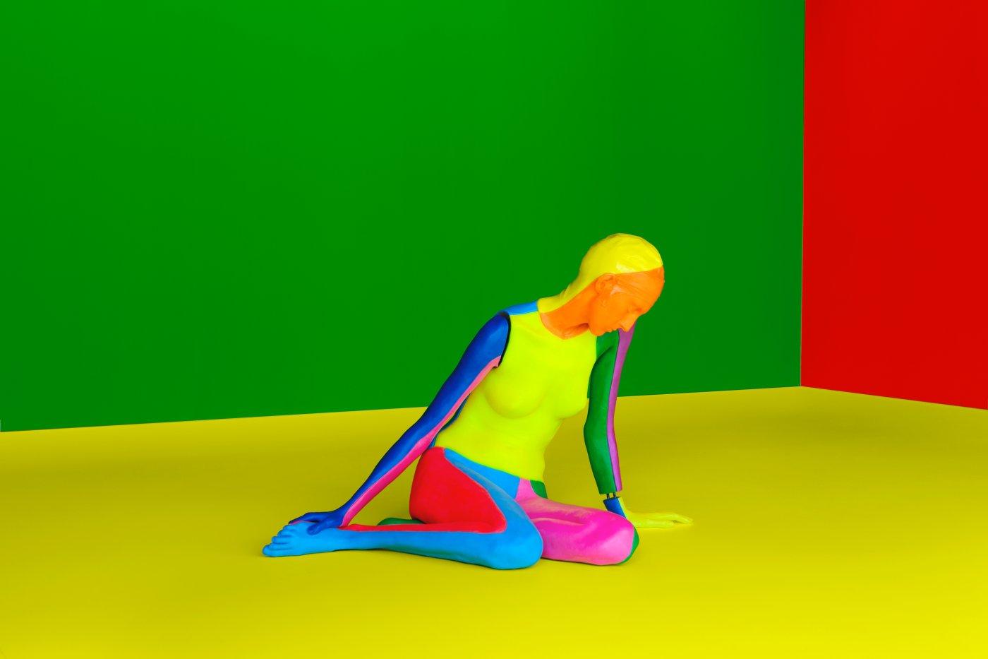 kamel mennour Ugo Rondinone a rainbow 6