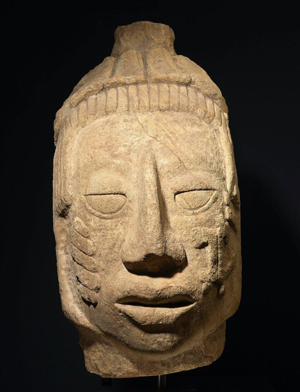 Portrait Head of a Female, Maya
