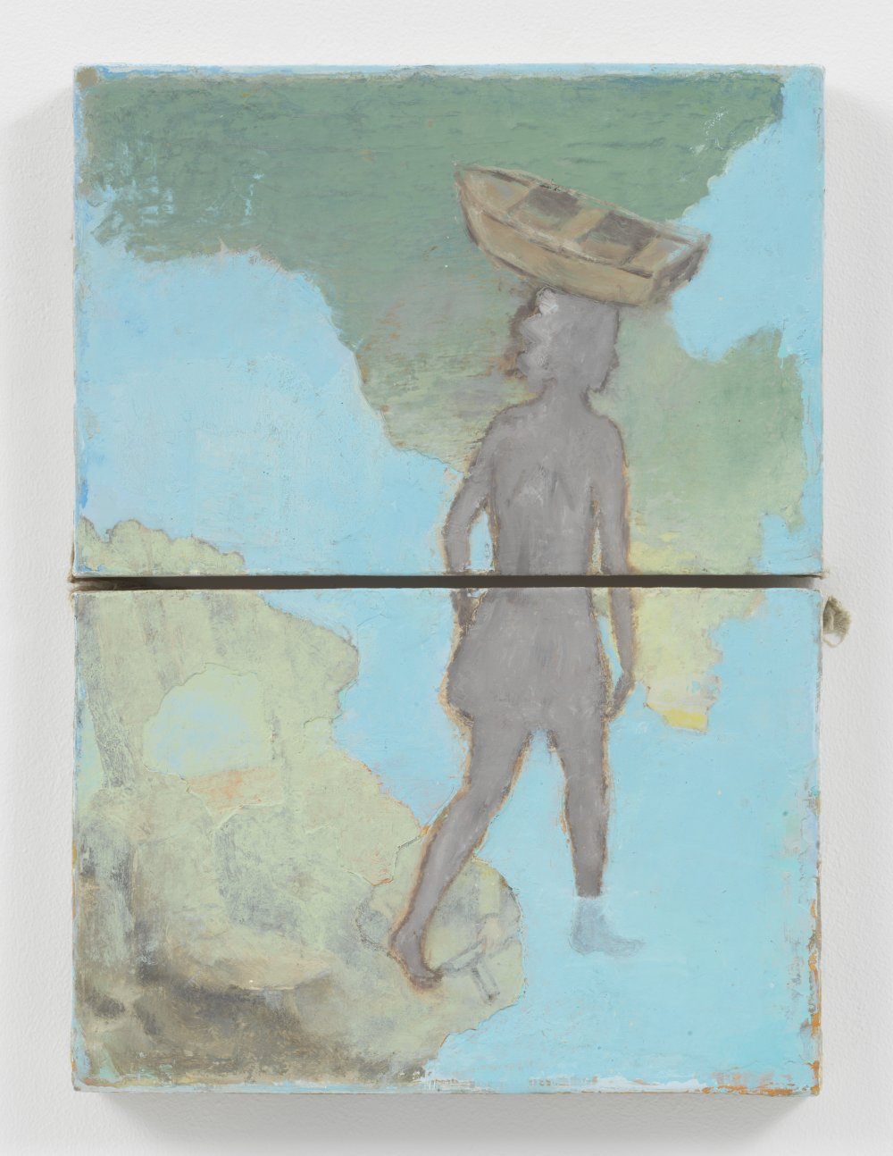 Untitled (Study for 'Don't Cross the Bridge Before You Get to the River')