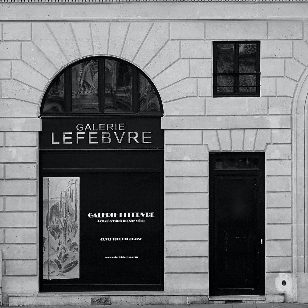Galerie Lefebvre, Paris  - GalleriesNow.net