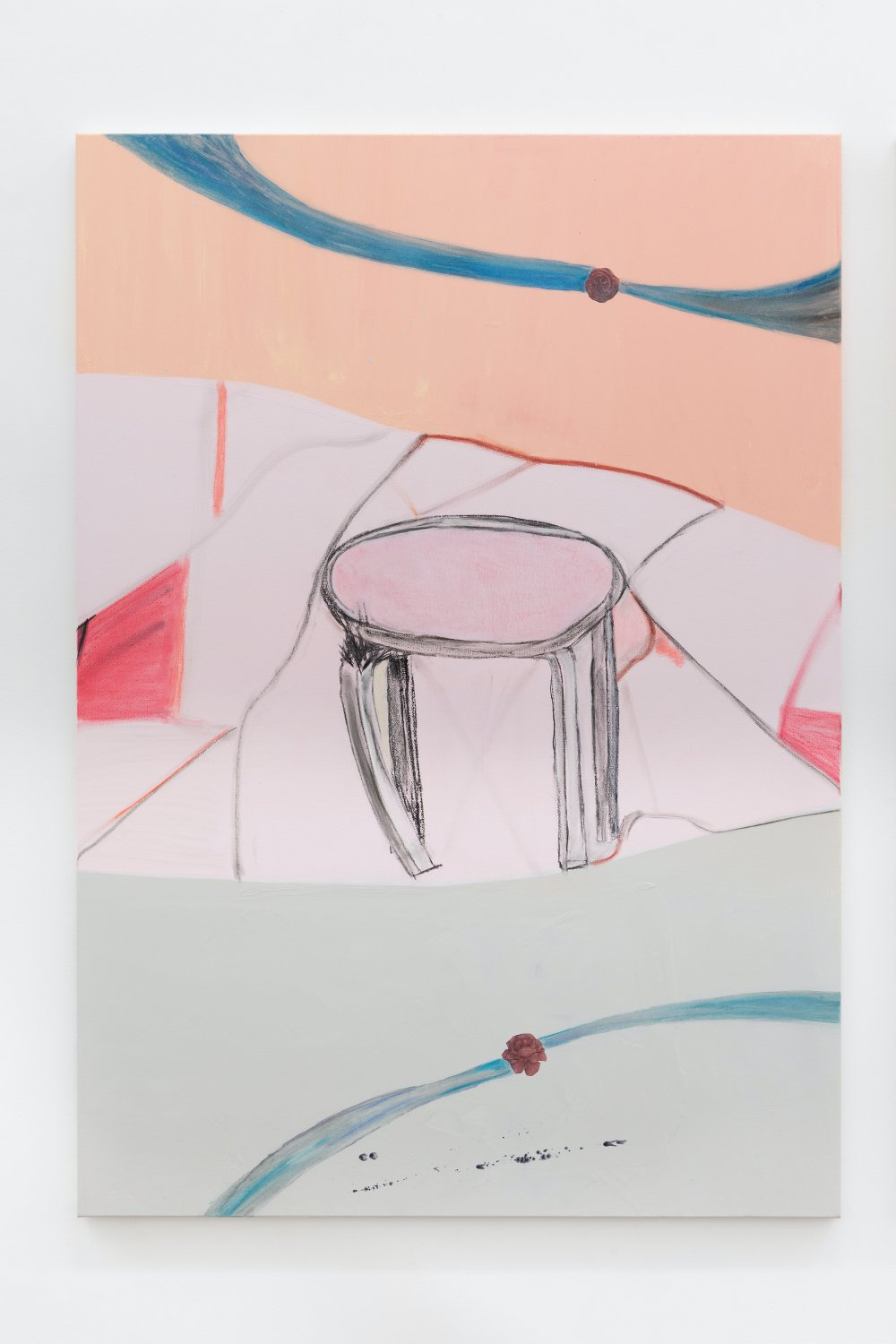 Not yet titled (Stool With Broken Leg)
