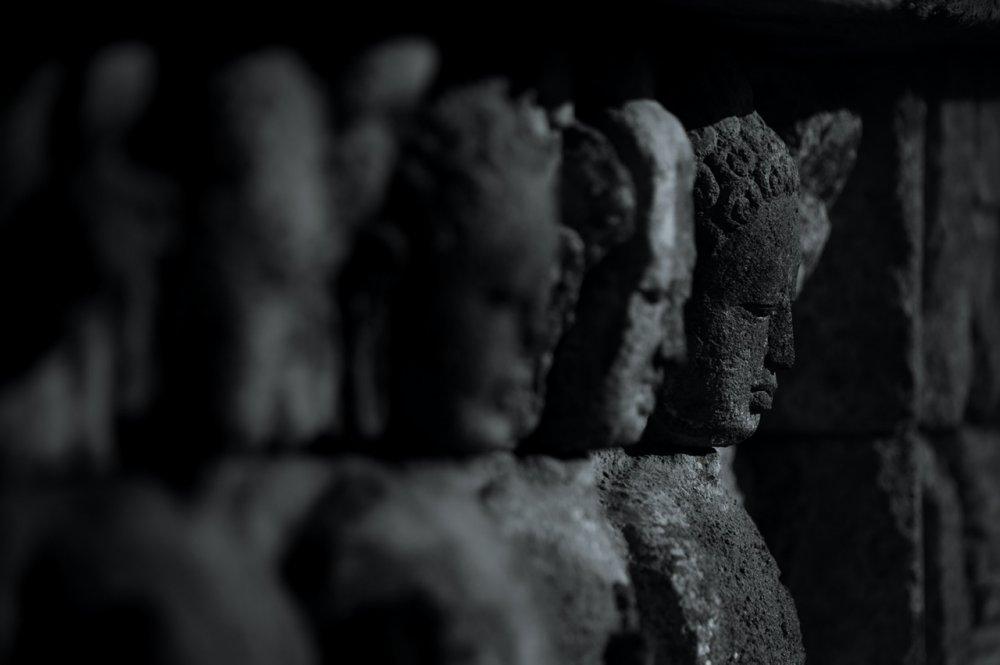 Borobodur Relief 01. Central Java, Indonesia