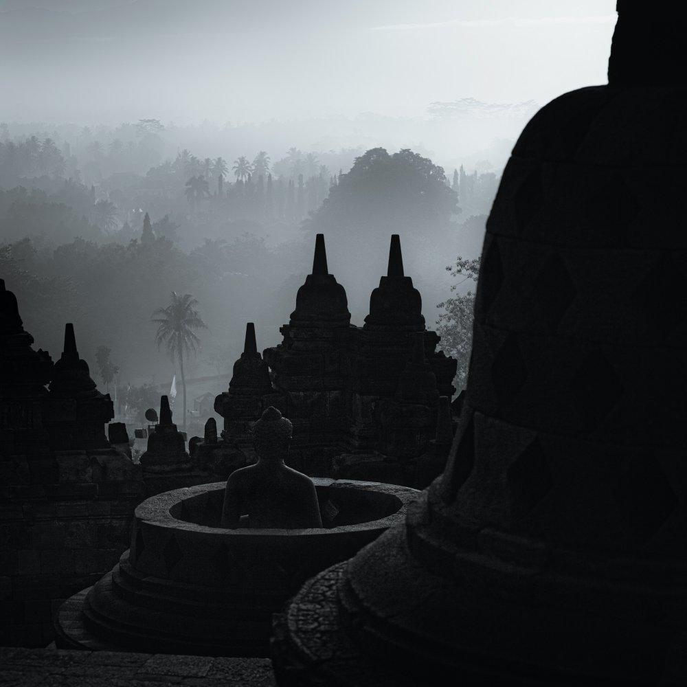 Borobodur Temple. Central Java, Indonesia