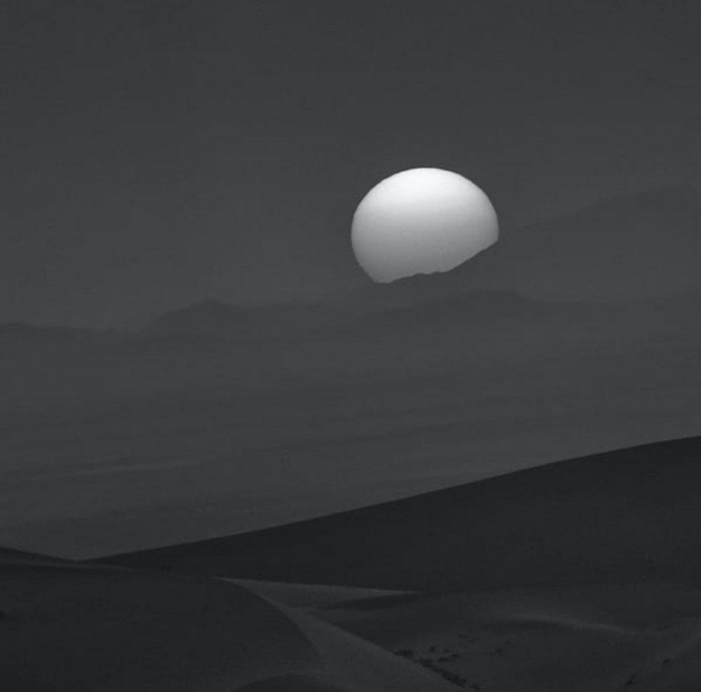 Dusk Merzouga 01. Merzouga, Sahara Desert, Morocco