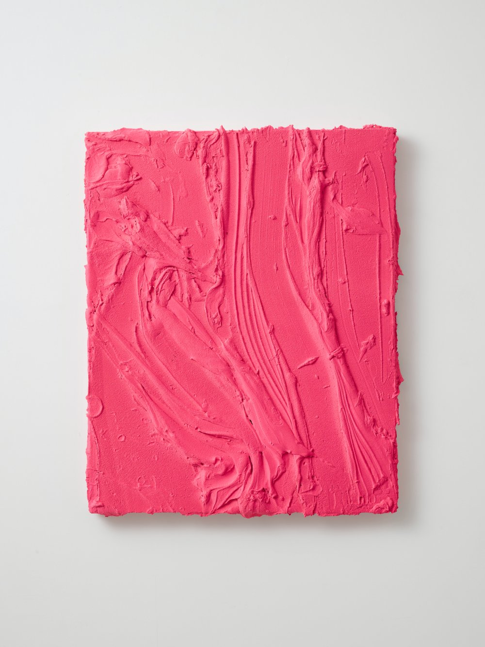 Untitled (Fluorescent flame red / Rosso laccato)