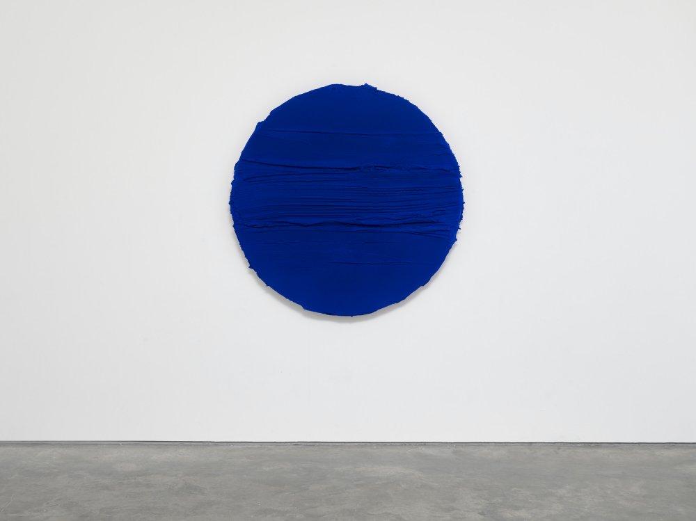 Untitled (Ultramarine blue)