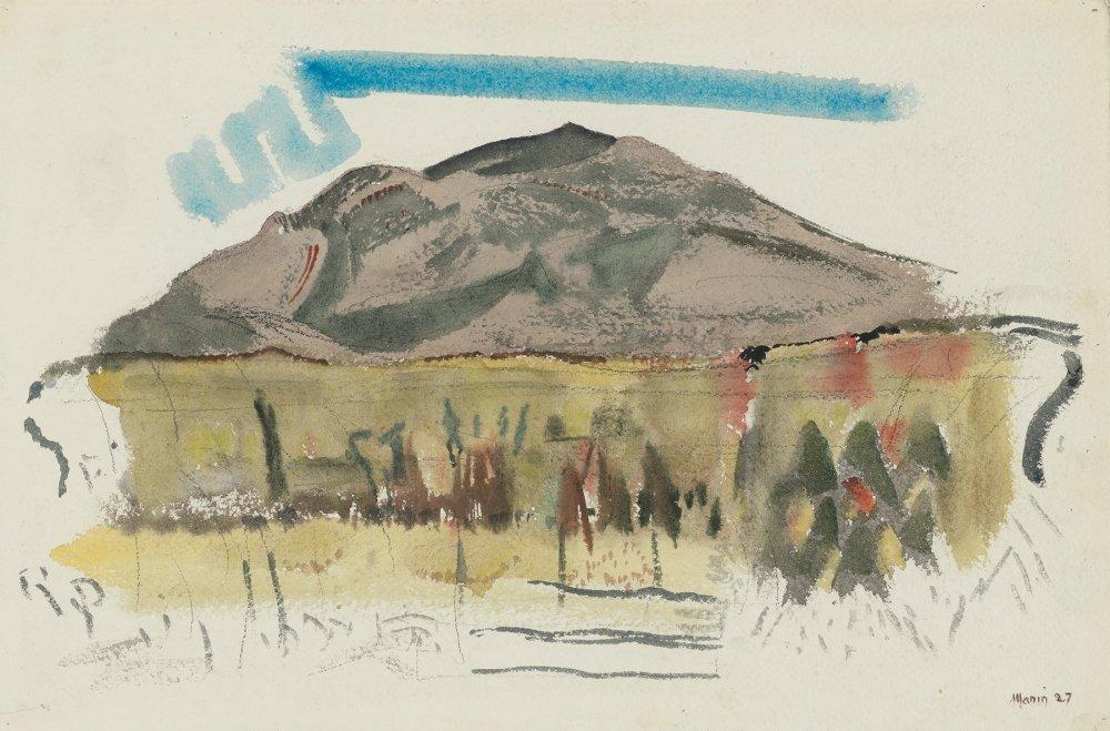 White Mountain Country, Autumn No. 44, Franconia Range, The Mountain No. 1