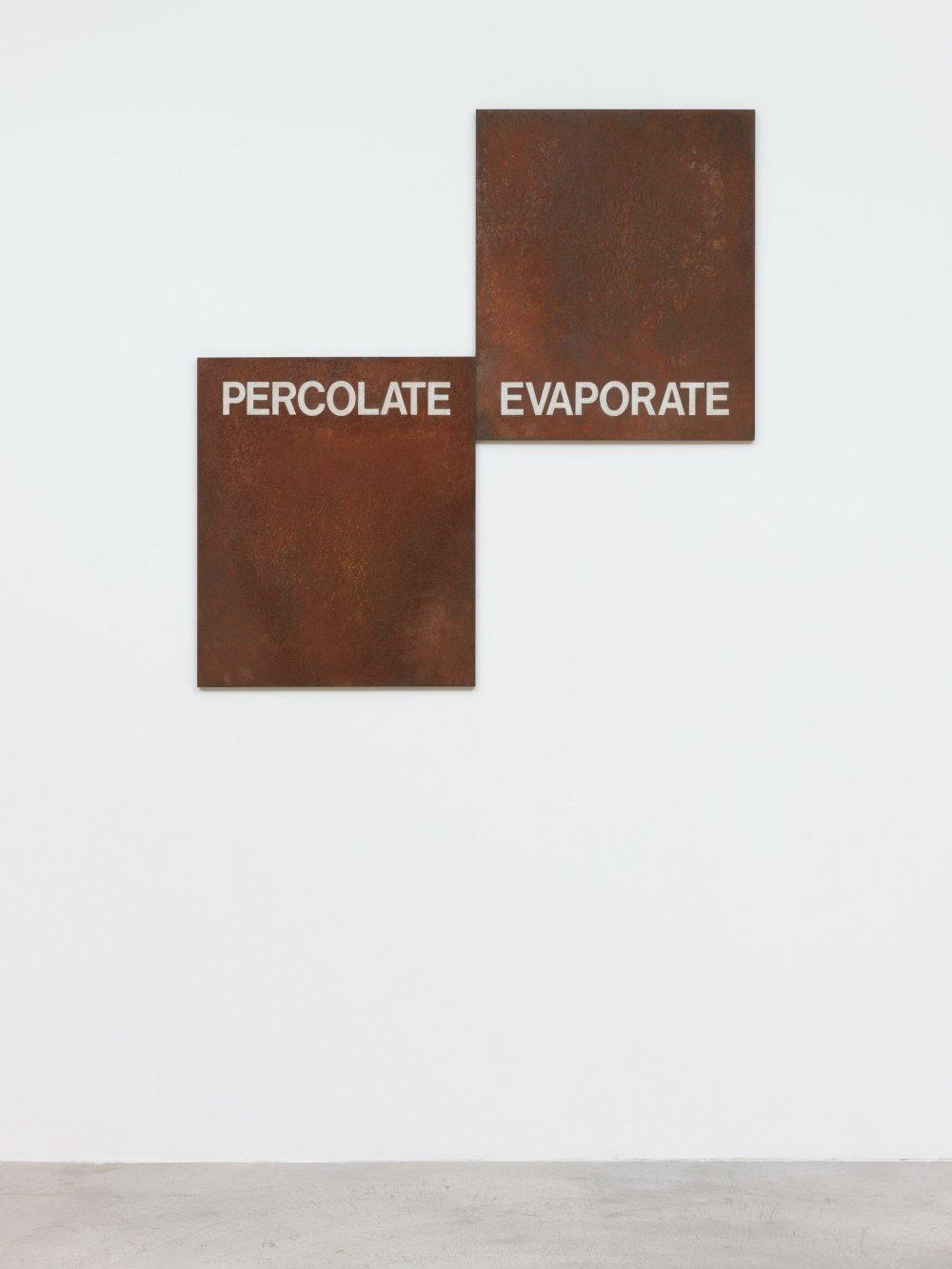 Percolate/Evaporate