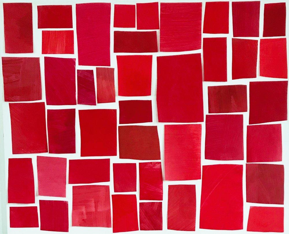Color Study - Red Regatta