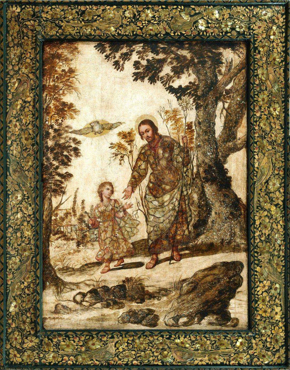 Saint Joseph and the Infant Jesus, Mexico