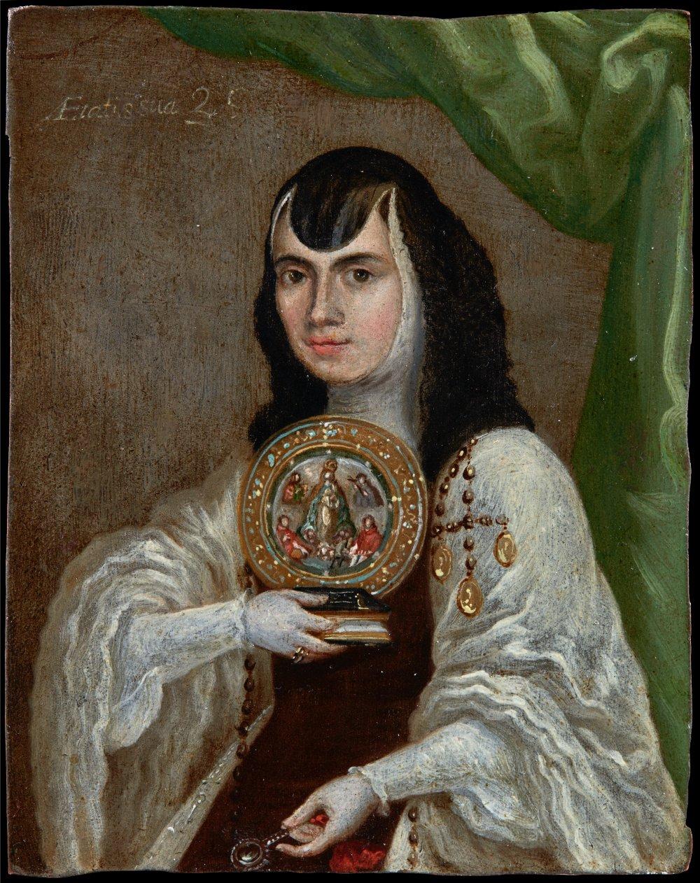 A First Portrait of Sor Juana Inés de la Cruz