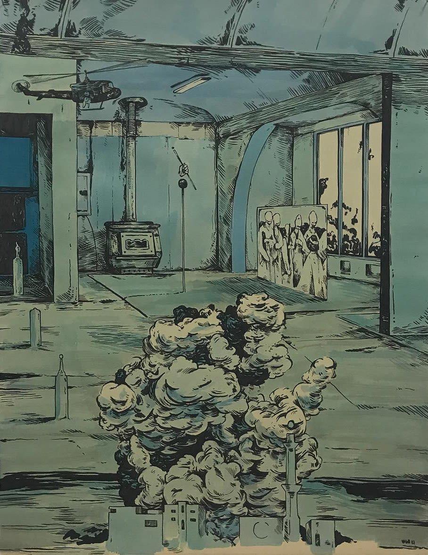 Scenery in Blue #14