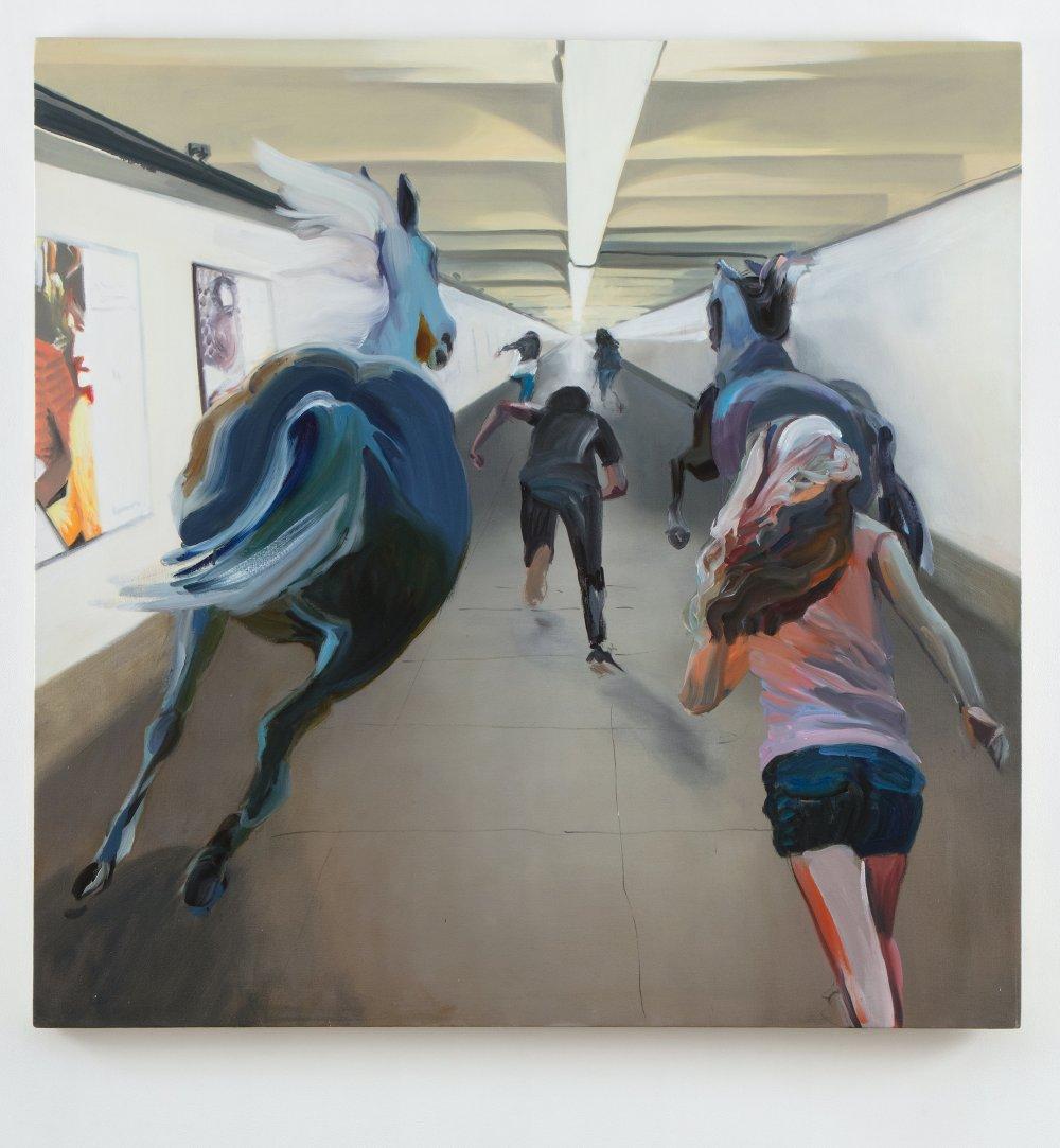 Subway horses