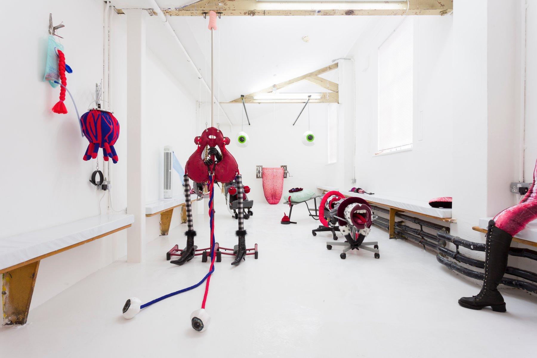 Installation views of Zabludowicz Collection Invites: Rosie Gibbens