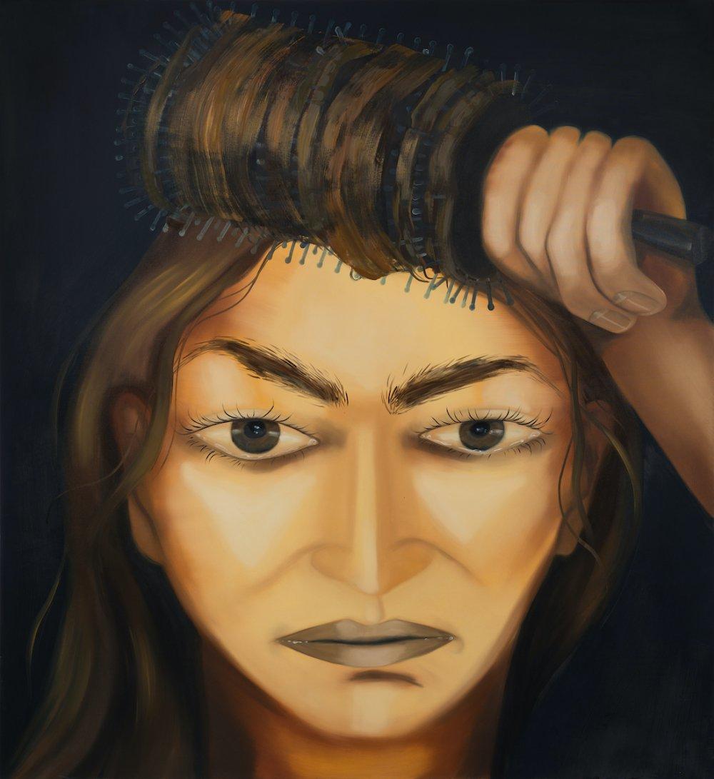 combing hair II