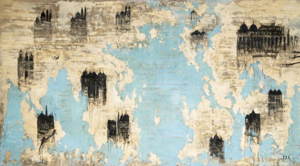 piero-pizzi-cannella-le-cattedrali-2004-oil-on-canvas-520x300cm