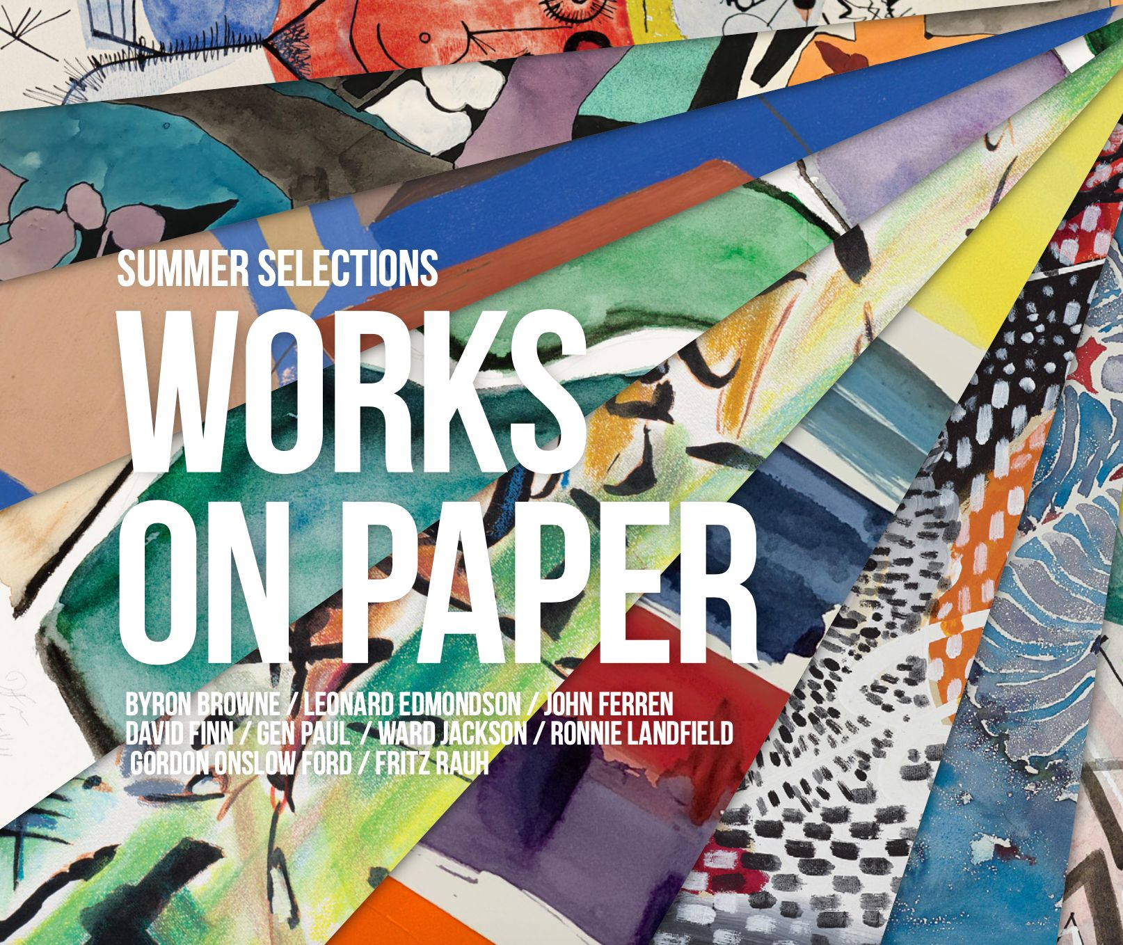 Findlay works on paper feature