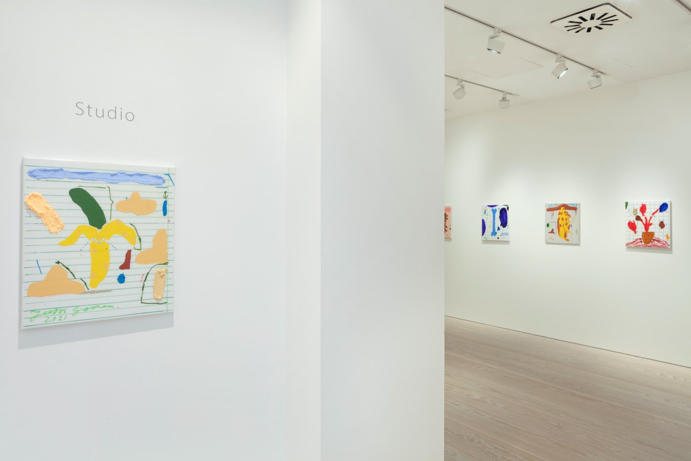 Galerie Forsblom Jussi Goman August 2021 2