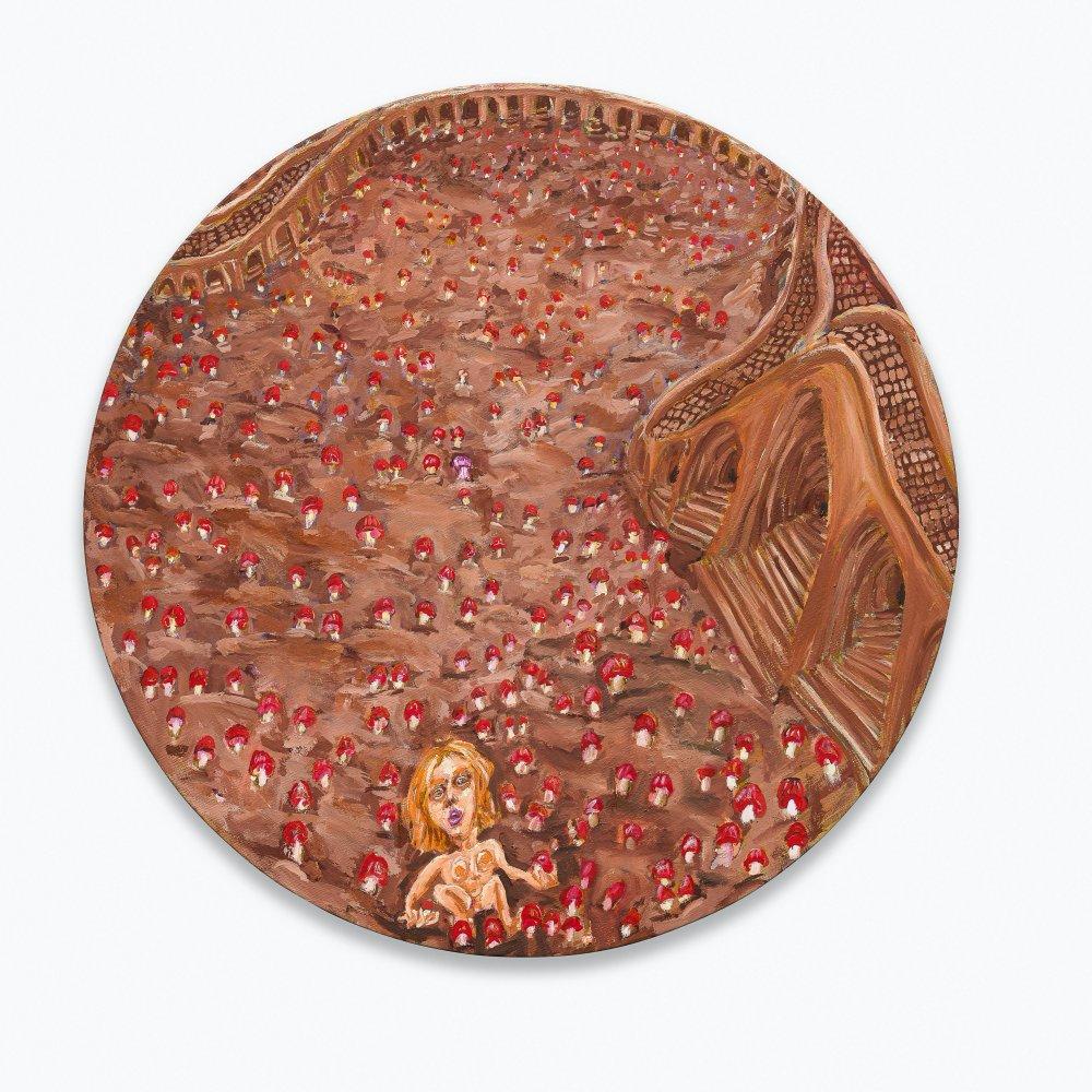 Mushroom-Tondo