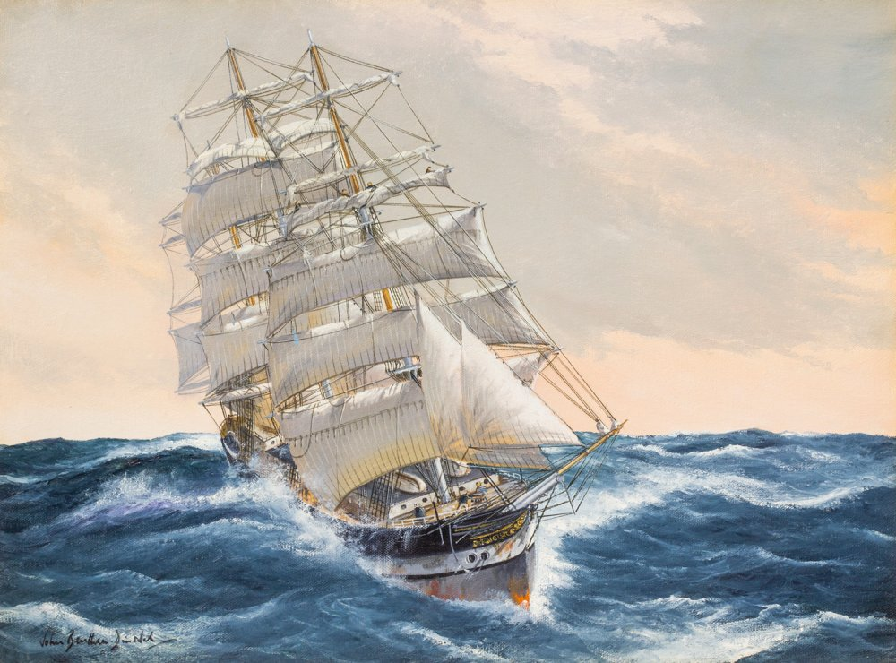 The Salus Running Before Winds