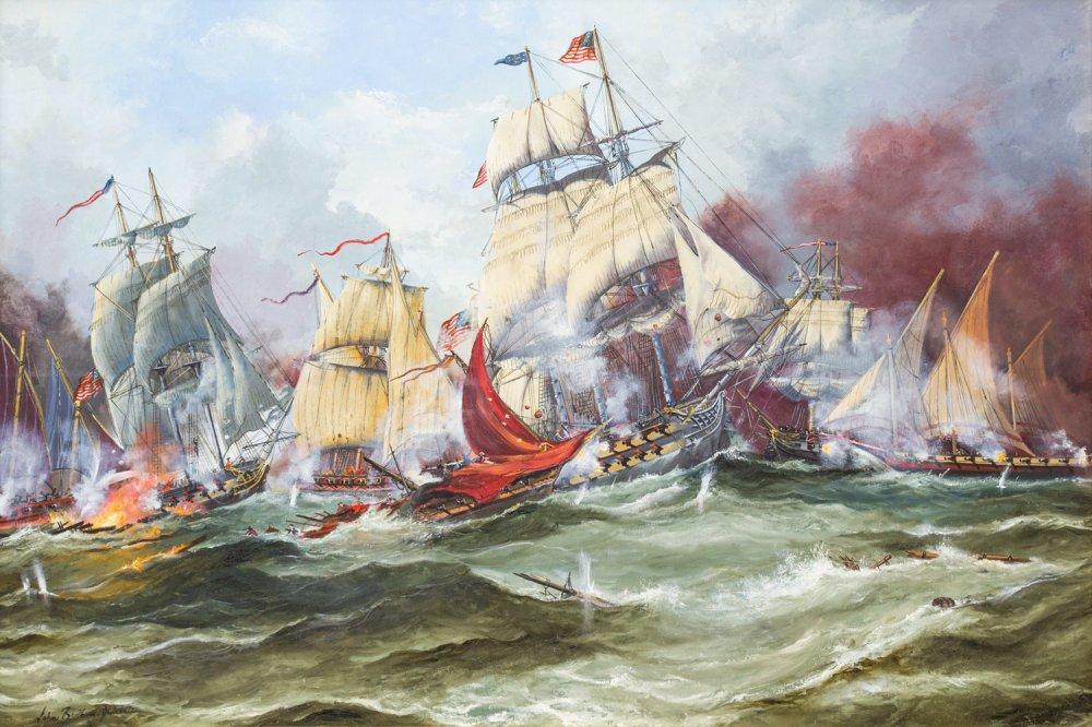 The Barbary Corsair's 1815-16