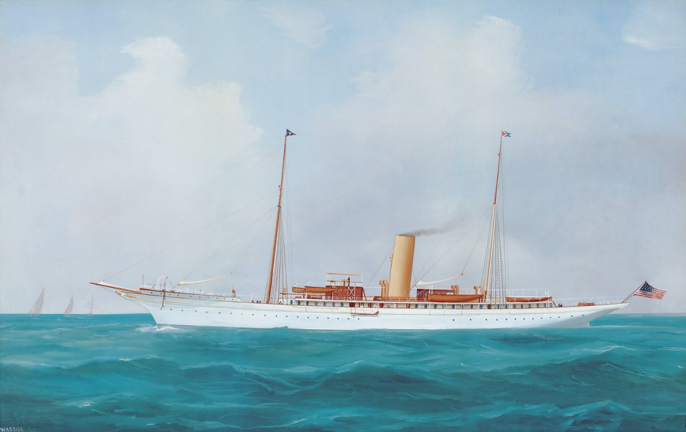 Steam Yacht Warrior