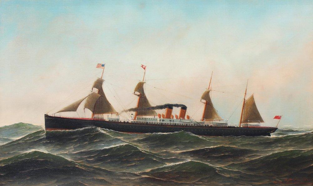 The Steamship Britannic