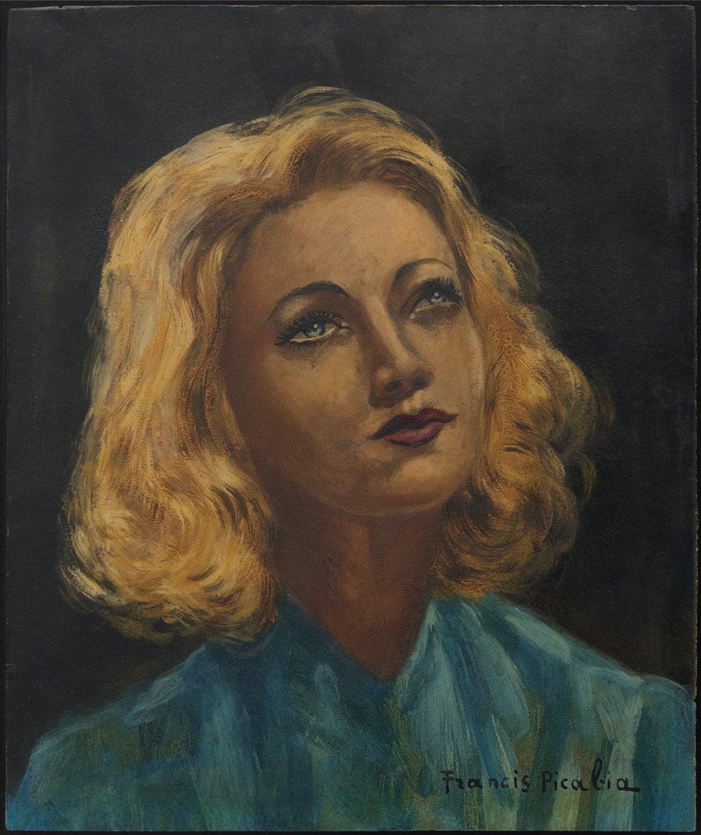 untitled (Portrait de femme)