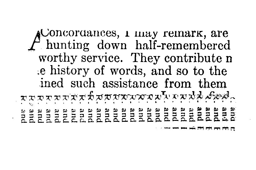 """From the book """"Concordance"""", Page 31, (The Grenfell Press)"""