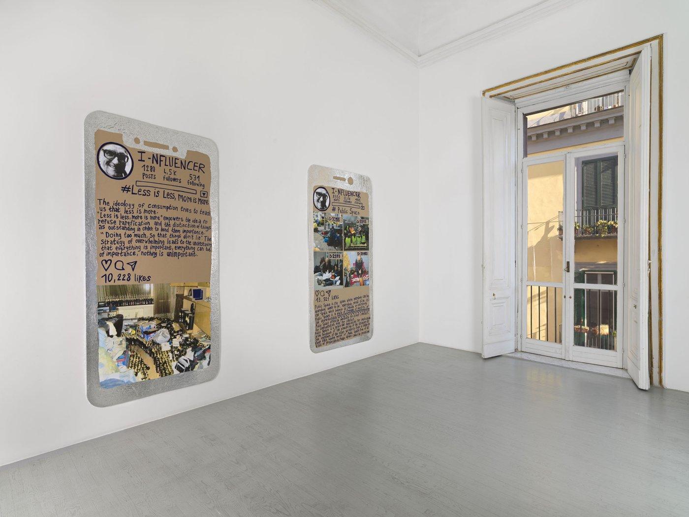 Thomas Hirschhorn_I-nfluencer -poster