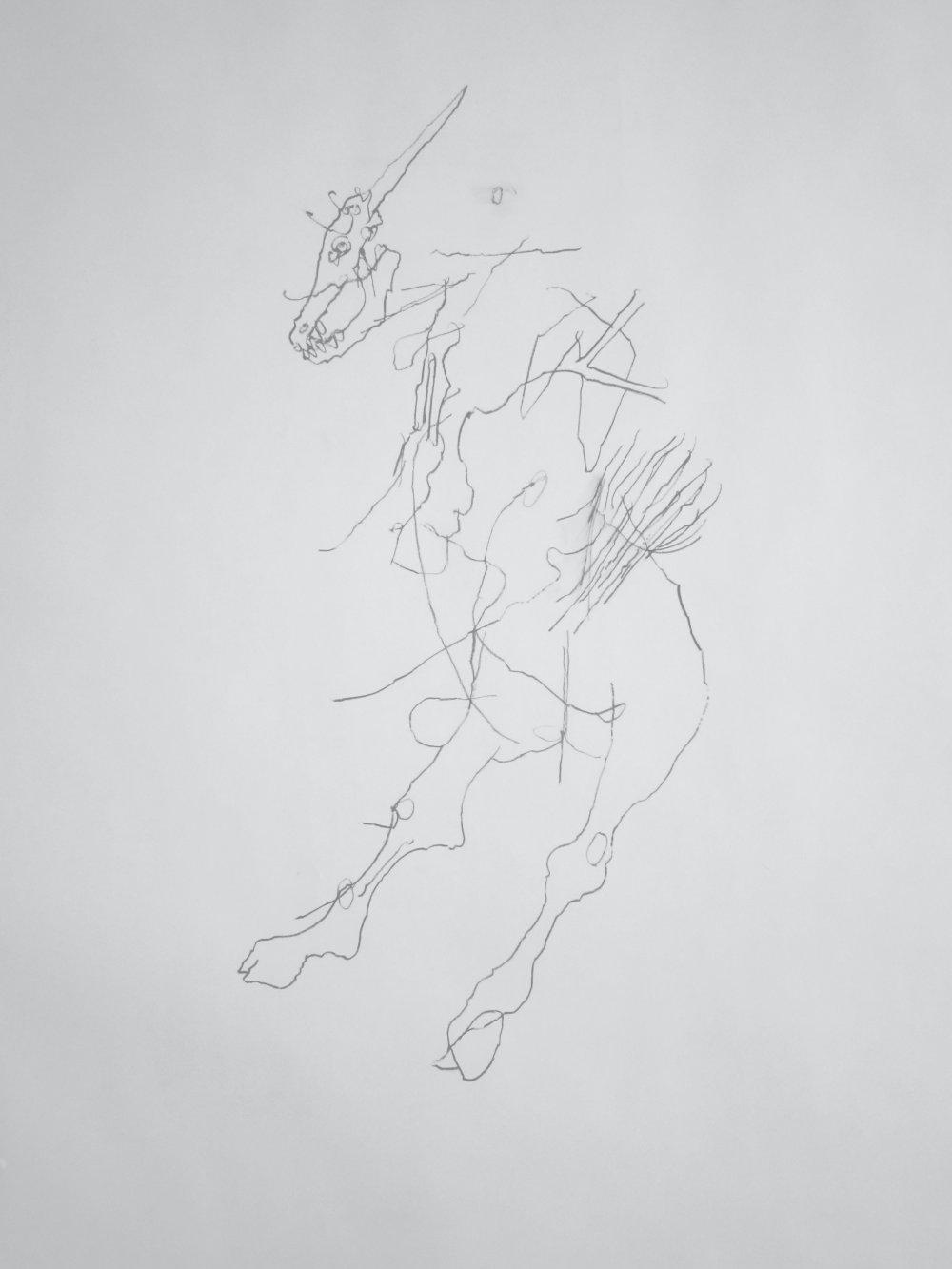 Goat Horse (Untitled Small Goat)