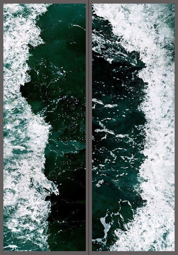 Invisible Seascape #7-1/7-2