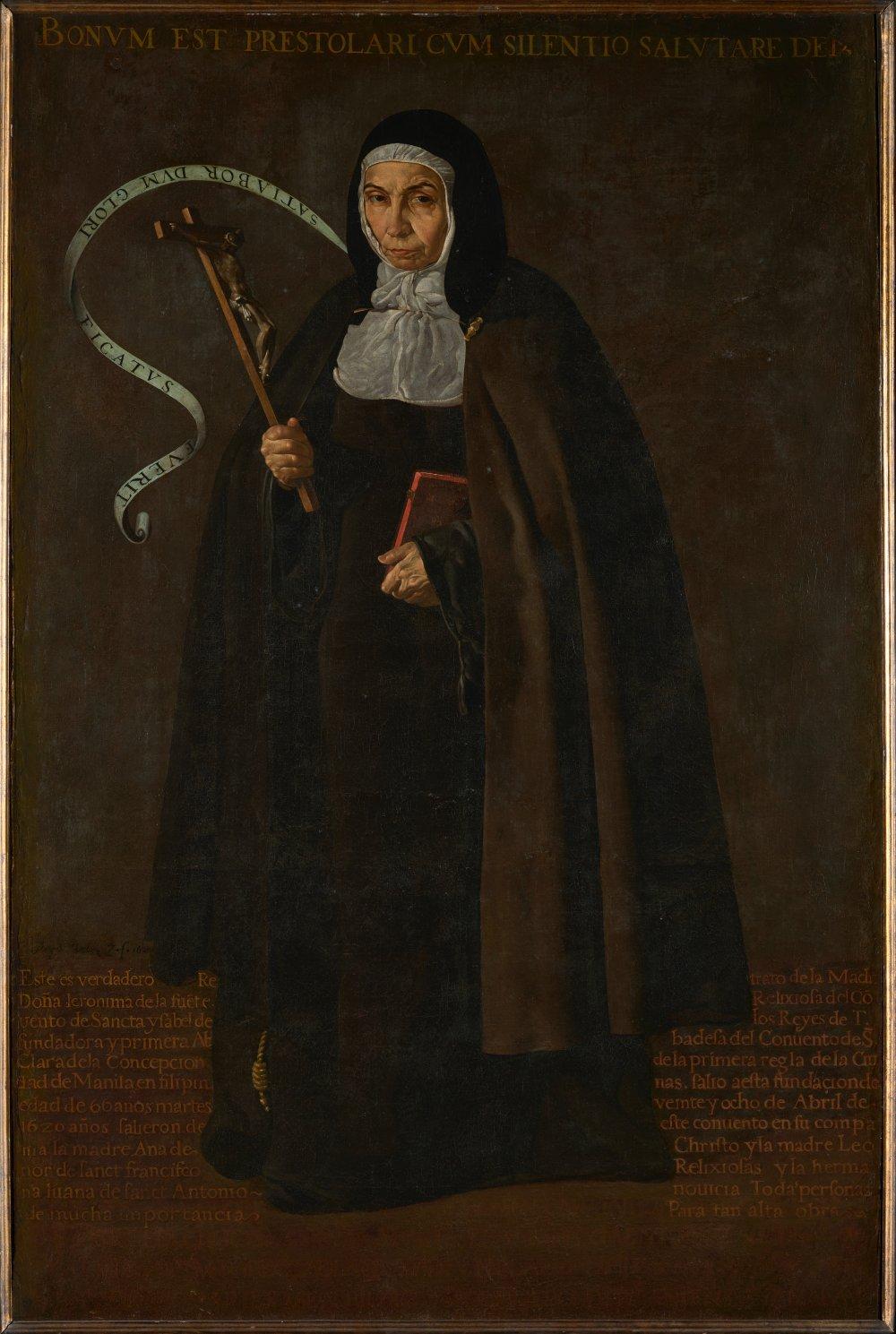 Mother Jerónima de la Fuente