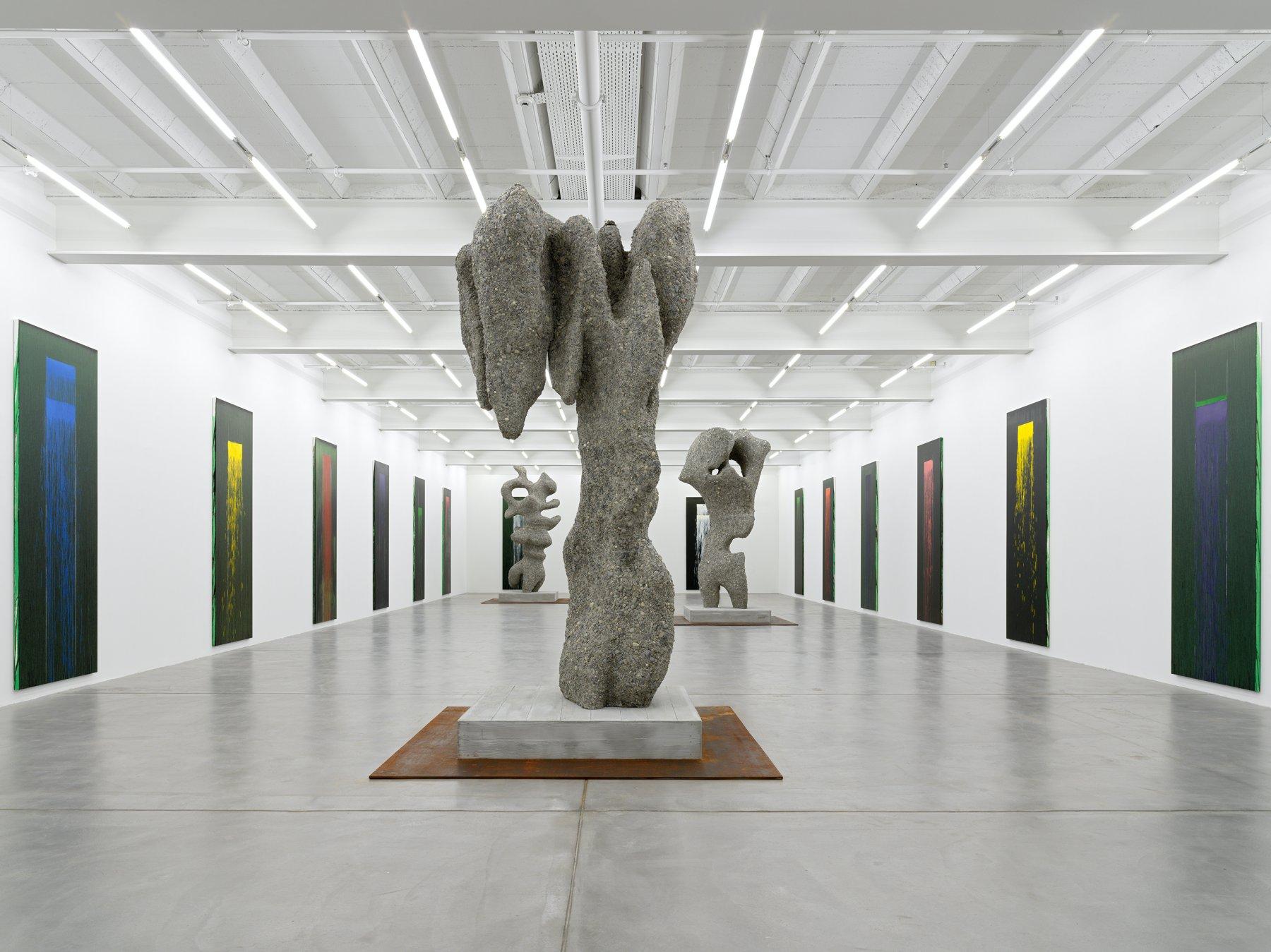 Galerie Eva Presenhuber Pat Steir Ugo Rondinone 1